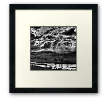 Light Rain Framed Print