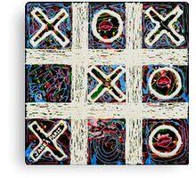 Triple X Win Canvas Print