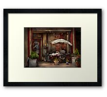 Storefront -  Frenchtown, NJ - The Boutique  Framed Print
