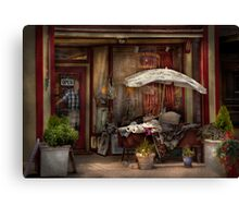 Storefront -  Frenchtown, NJ - The Boutique  Canvas Print