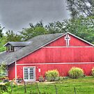 Church, Country Style(was a home for a short time) by Sheryl Gerhard