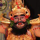 Bali dancer in Ubud by Cathie Brooker