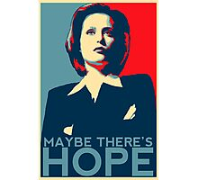 Scully: Maybe There's Hope Photographic Print