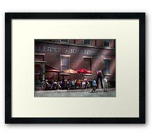 Storefront - Bastile Day in Frenchtown Framed Print