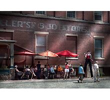 Storefront - Bastile Day in Frenchtown Photographic Print