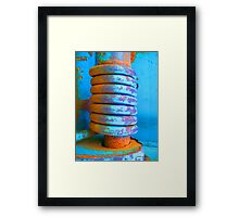 Coiled and Collected... Framed Print