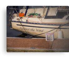 Against the Wind Metal Print