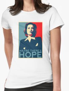 Scully: Maybe There's Hope Womens Fitted T-Shirt