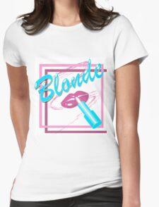 BLONDE Womens Fitted T-Shirt