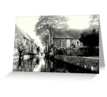 The River Stour  Greeting Card