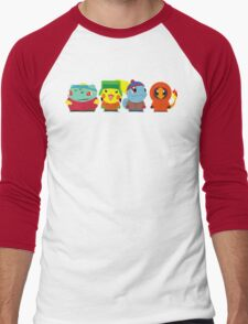Pokemon of South Park Men's Baseball ¾ T-Shirt