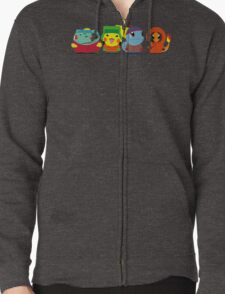 Pokemon of South Park Zipped Hoodie
