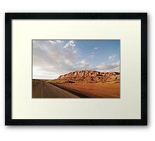 Drive By Arizona Framed Print