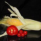 Corn & Tomatoes by AnnDixon