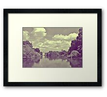 Horseguards and the Eye Framed Print