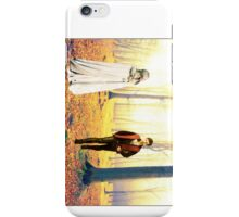 Captain Swan walk in the Enchanted Forest iPhone Case/Skin