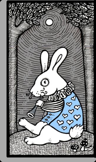 White Rabbit Fanfare by Anita Inverarity
