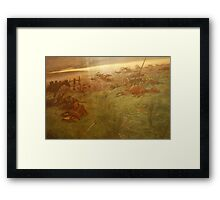 After the Battle Framed Print