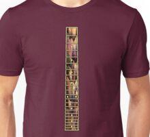 Colorful Guitar neck Unisex T-Shirt