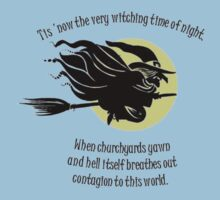 'Tis Now The Witching Time Of Night Baby Tee