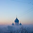  Misty morning in Moscow by Yulia Manko