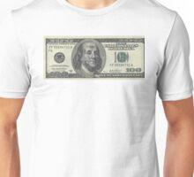 If Benjamin Franklin was a thug - 100 Dollar Bill Unisex T-Shirt