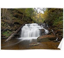 Mohican Falls (Autumn) Poster