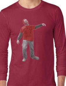 plane-t-shirt zombie Long Sleeve T-Shirt