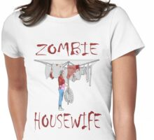 zombie housewife  Womens Fitted T-Shirt