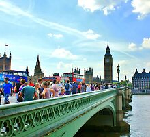 Westminster Bridge #1 by Matthew Floyd