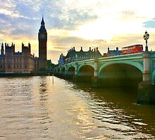 Westminster Bridge #7 by Matthew Floyd
