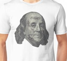 Benjamin Franklin with tattoos Unisex T-Shirt