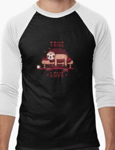 True love Men's Baseball ¾ T-Shirt