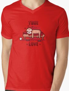 True love Mens V-Neck T-Shirt