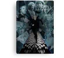 Doctor Who - Always Running Canvas Print