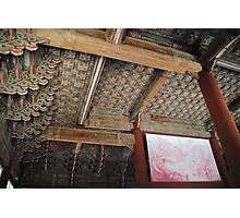 Seoul Palace Ceiling Photographic Print