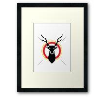 Stag Head  Framed Print