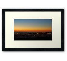 Torrens Island Sunset Framed Print