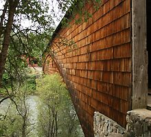 Covered Bridge on South Yuba River by Maurine Huang