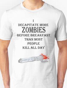 zombie breakfast Unisex T-Shirt