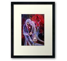 AZREAL THE DEMON SLAYER ! Framed Print