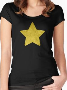 Distressed Rock Universe Women's Fitted Scoop T-Shirt