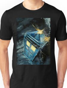 Tardis & Time Vortex Unisex T-Shirt