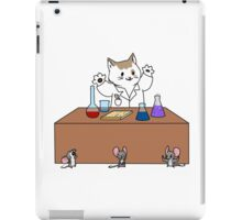 Scientist Cat iPad Case/Skin