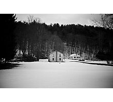 Hortonville House Photographic Print