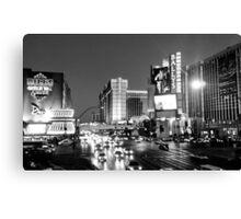 Las Vegas Boulevard Canvas Print