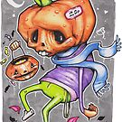 Pedro the Pessimistic Punkin by DoodlesnDrips