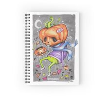 Pedro the Pessimistic Punkin Spiral Notebook