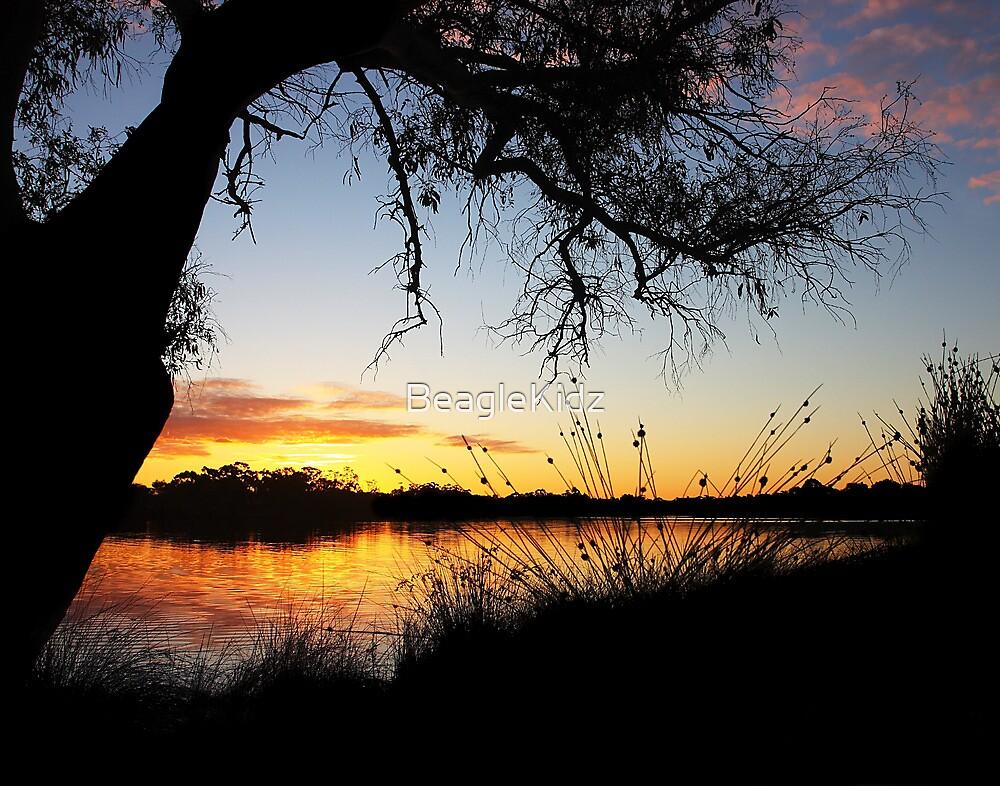 Adachi Sunset by Erika Lieftink