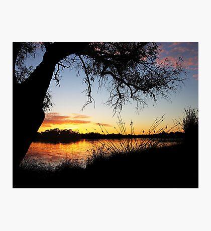 Adachi Sunset Photographic Print